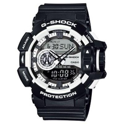 取寄品 CASIO腕時計 カシオ G-SHOCK ジーショック アナデジ アナログ&デジタル GA-400-1AJF 人気モデル メンズ腕時計 送料無料