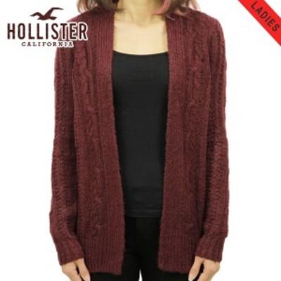 ホリスター セーター レディース 正規品 HOLLISTER カーディガン   Cable Knit Cardigan 350-508-0514-520