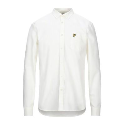 ライルアンドスコット LYLE & SCOTT シャツ イエロー M コットン 100% シャツ