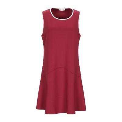 TWINSET UNDERWEAR ミニワンピース&ドレス ボルドー XS ポリエステル 96% / ポリウレタン 4% ミニワンピース&ドレス