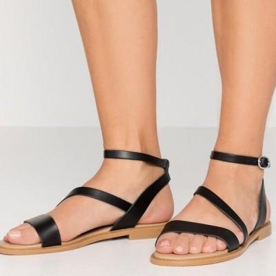 アンナフィールド レディース サンダル LEATHER SANDALS - Sandals - black