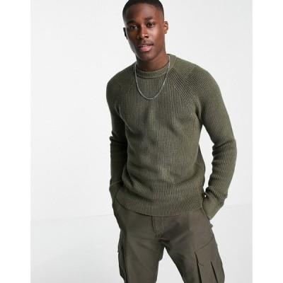カルバンクライン Calvin Klein Jeans メンズ ニット・セーター トップス spotton crew neck jumper グリーン
