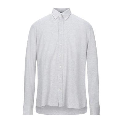 ハケット HACKETT シャツ ライトグレー XL コットン 100% シャツ