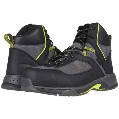 Kodiak MKT 1 Composite Toe Hiker メンズ ブーツ Black/Lime