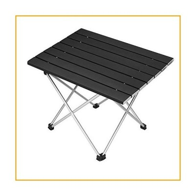 Folding Camping Table Portable Beach Picnic Table Collapsible Foldable Home Office Lap Desks Aluminum Lightweight Camp Tables for Outdoor Ba