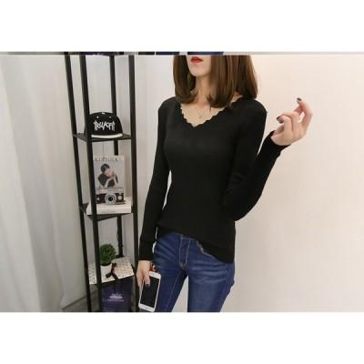 大きいサイズXL-4XL ファッション 人気セーター ブラック ホワイト2色展開