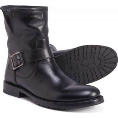 フライ Frye レディース ブーツ シューズ・靴 Natalie Short Engineer Boots - Leather Black