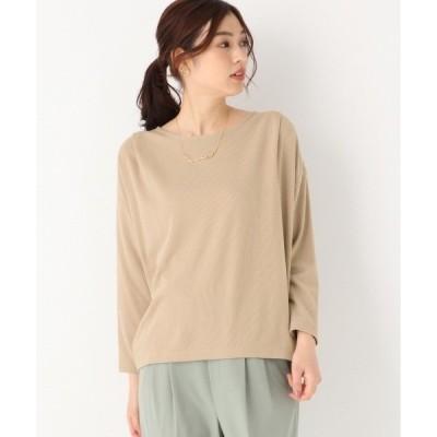 tシャツ Tシャツ ミニワッフルプルオーバー長袖/868064