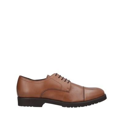 ア テストーニ A.TESTONI メンズ シューズ・靴 laced shoes Tan