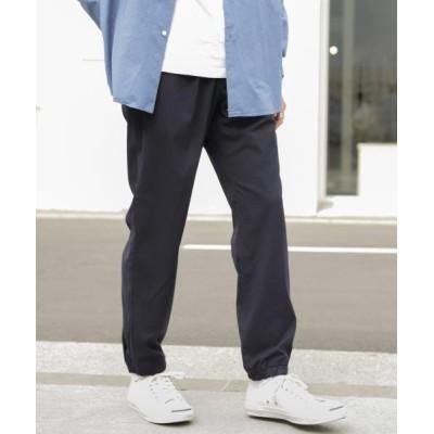 【アーバンリサーチサニーレーベル】 CASTELLO11ジョガーパンツ メンズ ネイビー M URBAN RESEARCH Sonny Label