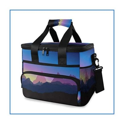 HHL Cooler Bag, Mountains Sunset 15l Large Insulated Lunch Bag Picnic Cooler, Camping Cooler[並行輸入品]