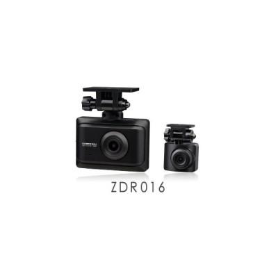 COMTEC コムテック ドライブレコーダー ZDR-016 前後2カメラ コンパクトボディ