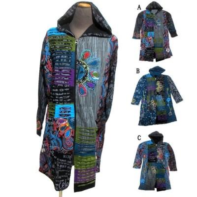 アウターエスニックコート エスニック衣料 エスニックアジアンファッション