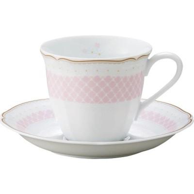 ノリタケ デイジーベル コーヒー碗皿 ピンク  T9588A/1705 (ギフト対応不可)