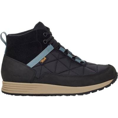 テバ ブーツ&レインブーツ レディース シューズ Ember Commute Waterproof Boot - Women's Black/Grey