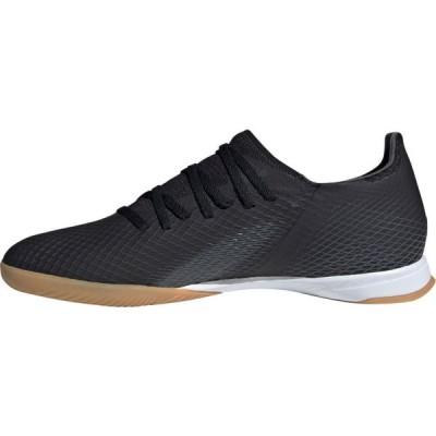 アディダス adidas メンズ サッカー シューズ・靴 X Ghosted.3 Indoor Soccer Shoes Black/Black