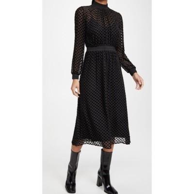 トリー バーチ Tory Burch レディース ワンピース ワンピース・ドレス Velvet Devore Dress Triangle Geo