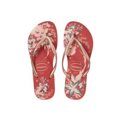 ハワイアナス レディース サンダル シューズ Slim Organic Flip Flops
