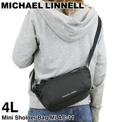 MICHAEL LINNELL(マイケルリンネル) A.R.M.S(アームズ) ミニショルダーバッグ 斜め掛けバッグ 4L 撥水 軽量 正規品 メンズ レディース ジュニア MLAC-11
