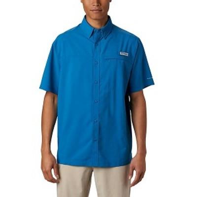 (取寄)コロンビア メンズ グランダー マーリン ウーブン ショートスリーブ シャツ Columbia Men's Grander Marlin Woven SS Shirt Dark P