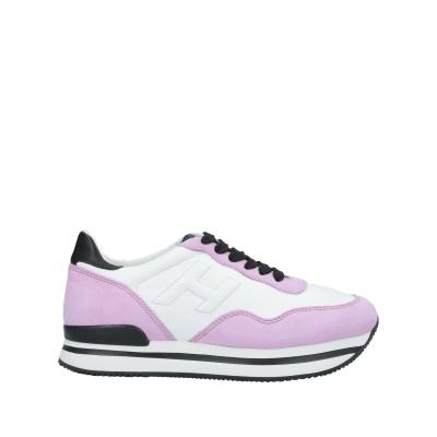 ホーガン HOGAN スニーカー&テニスシューズ(ローカット) ピンク 35 革 スニーカー&テニスシューズ(ローカット)