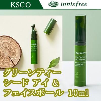 Innisfree  イニスフリー Green Tea Seed  グリーンティー シード アイ&フェイス ボール 10ml