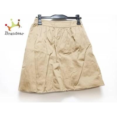 ドレステリア DRESSTERIOR スカート サイズ36 S レディース 美品 ベージュ       スペシャル特価 20200426