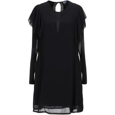 ベルナ BERNA ミニワンピース&ドレス ブラック XS ポリエステル 95% / レーヨン 5% ミニワンピース&ドレス
