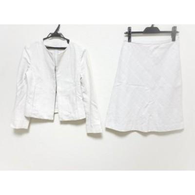 マッキントッシュロンドン MACKINTOSH LONDON スカートスーツ サイズ36 S レディース - 白【中古】20200814