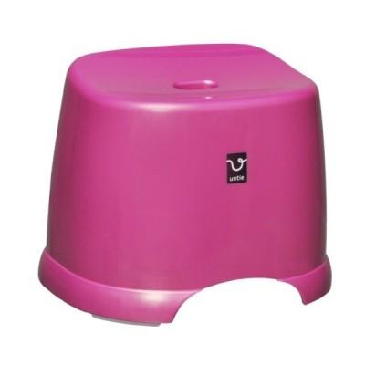 アンティ? 風呂椅子角 HK ピンク 288×366×280mm  浴用品