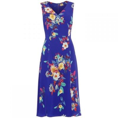 フェイズ エイト Phase Eight レディース ワンピース ワンピース・ドレス Bellissa Floral Fit & Flare Dress Blue