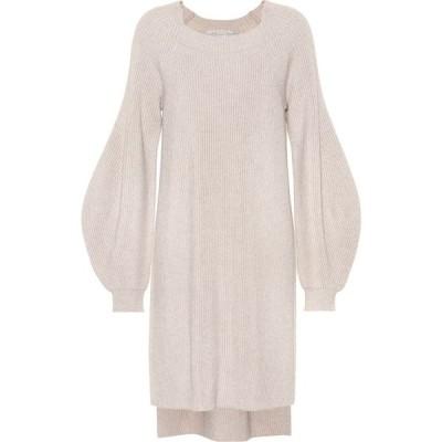 ステラ マッカートニー Stella McCartney レディース ワンピース ワンピース・ドレス wool sweater dress Bone