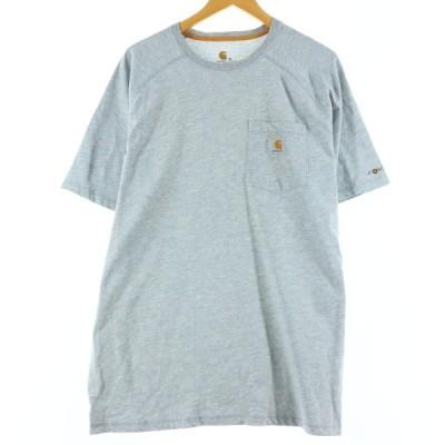 カーハート Carhartt ワンポイントロゴポケットTシャツ メンズXL /eaa158701