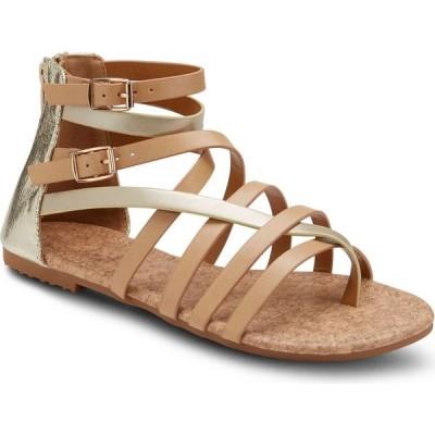 オリビアミラー Olivia Miller レディース サンダル・ミュール シューズ・靴 modern romance two tone sandals Natural