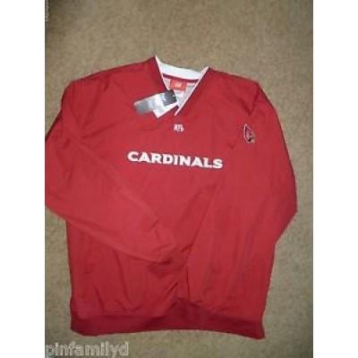【お取り寄せ】NFL メンズ NWT Arizona Cardinals OFFICIAL NFL Team Apparel pullover windbreaker jacket NEW