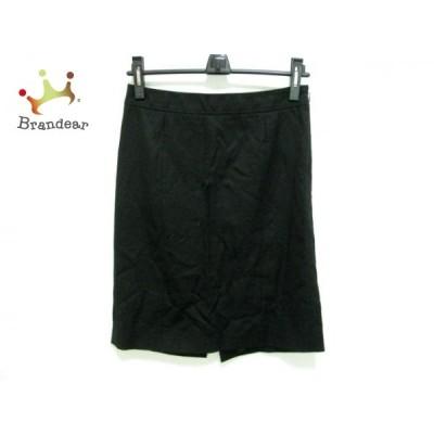 バーバリーブラックレーベル スカート サイズ40 M レディース - 黒 ひざ丈 新着 20201112