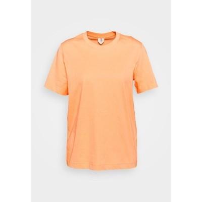 アーケット Tシャツ レディース トップス Basic T-shirt - apricot
