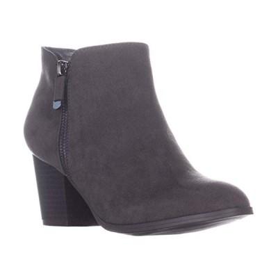 Style & Co. Womens Masrina Almond Toe Ankle Fashion Boots, Granite, Size 9.5【並行輸入品】