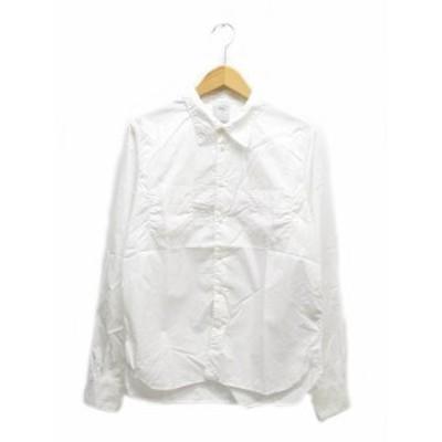 【中古】ビズビム VISVIM GEKKO DRESS SHIRT L/S ドレス シャツ 長袖 0117105011009 1 白 ■ 201023 0100 メンズ