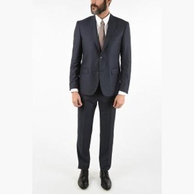 CORNELIANI/コルネリアーニ スーツ Blue メンズ 秋冬2019 CC COLLECTION side vent notch lapel drop 7R 2-button RIGHT suit dk