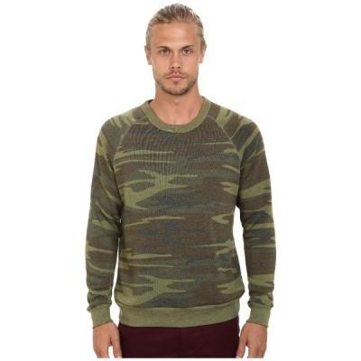 オルタナティヴ パーカー・スウェットシャツ アウター メンズ Printed Champ Eco Fleece Sweatshirt Camo