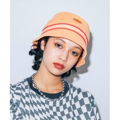 X-girl / TERRY CLOTH BUCKET HAT WOMEN 帽子 > ハット