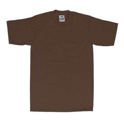 バックヤードファミリー BACKYARD FAMILY PRO CLUB プロクラブ 101 半袖 クルーネック  Tシャツ (ブラウン)