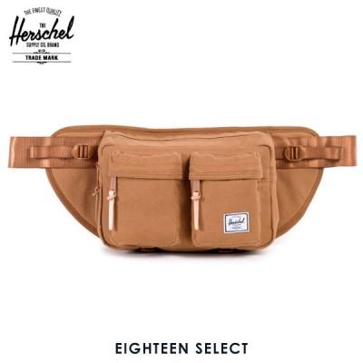 ハーシェル バッグ 正規販売店 Herschel Supply ハーシェルサプライ ショルダーバッグ Eighteen Select 10018-00742-OS Caramel D15S25