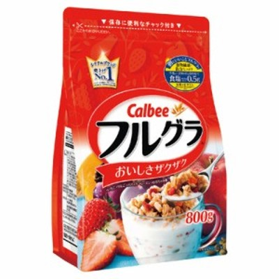 カルビー (calbee) フルグラ 800g まとめ買い(×6) 4901330740672(tc)