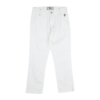 DAMPER DAN パンツ ホワイト 4 コットン 97% / ポリウレタン 3% パンツ