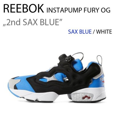 Reebok INSTAPUMP FURY ポンプフューリー ブルー ホワイト 2ND M48756 リーボック