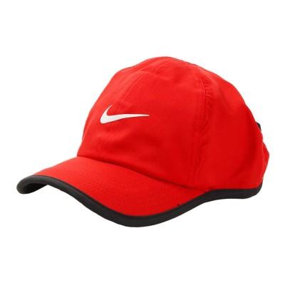 NIKE帽子ボーイズ キャップ 8A2627-U10レッド
