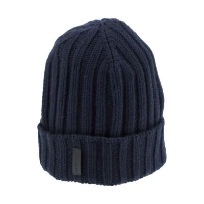 エンポリオ アルマーニ EMPORIO ARMANI 帽子 ダークブルー S バージンウール 40% / レーヨン 30% / ナイロン 20% /