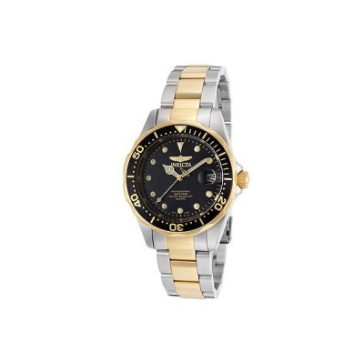 腕時計 インヴィクタ メンズ Invicta17049 Pro Diver ブラック ダイヤル ツートン ステンレス スチール 腕時計